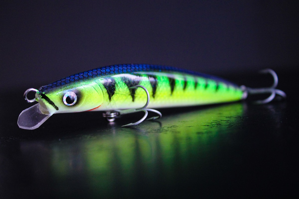 handmade lure - hand painted lure perch