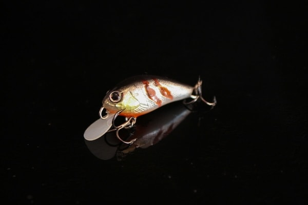 handmade lure from romania - wound fish handcrafted crankbait